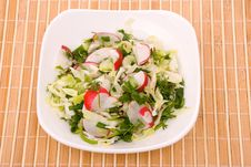 Free Fresh Green Salad Stock Photo - 9521060