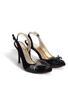 Free Black Women Shoes Stock Photography - 9521572