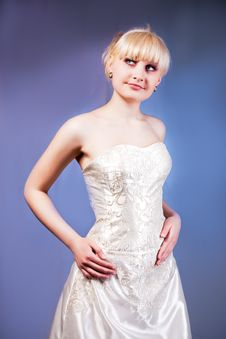 Free Woman In Wedding Dress Stock Photos - 9522063