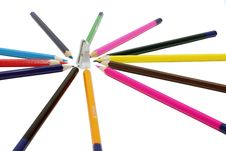 Free Sharp Pencils Stock Image - 9522641