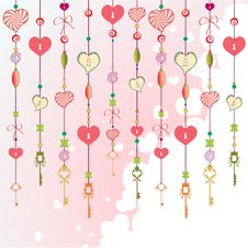 Free Decorative Wind Chimes Stock Photos - 9522643