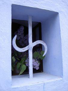 Free Blue Window Stock Photos - 9523223