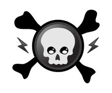 Free Pirate Skull Royalty Free Stock Photography - 9523917