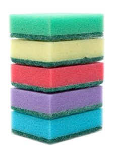 Free Colour Sponges, Tower Stock Photos - 9523943