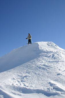 Free Snow, Ski And Sky Stock Photos - 9524003