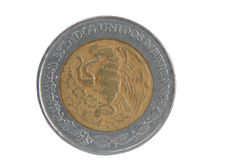 Free Coin Five Peso Stock Image - 9524121
