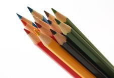 Free Pencils Royalty Free Stock Photography - 9524207