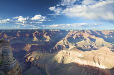 Free A View Over The Grand Canyon At Sunset Royalty Free Stock Images - 9525769