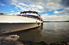 Luxurious Yacht Royalty Free Stock Images