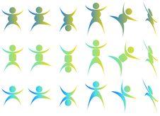 Free People Acrobats Stock Photography - 9527162