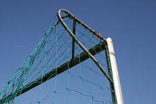 Soccer Goal Stock Photography