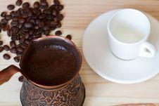 Free Turkish Coffee Stock Photography - 9528032