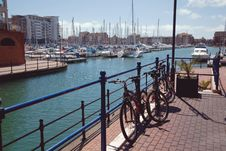 Free Harbour Royalty Free Stock Image - 9528036