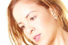 Free Female Gaze Royalty Free Stock Image - 9528056