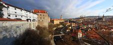 Free Panorama Of Cesky Krumlov Royalty Free Stock Photography - 9528347