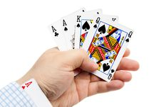 Free Playing Cards Stock Photos - 9528553