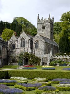 Free Lanhydrock Estate Church Stock Images - 9528944