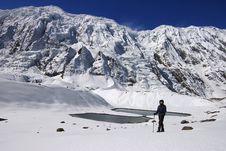 Free High-mountainous Lake Tilicho Stock Photography - 9529452