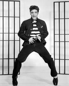 Free Elvis Presley Dancing In Jail Royalty Free Stock Image - 95271586