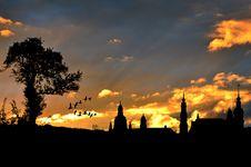 Free Sky, Sunset, Atmosphere, Sunrise Stock Image - 95283791
