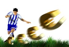 Free Football, Yellow, Football Player, Ball Stock Photography - 95284042