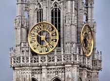 Free Landmark, Clock Tower, Building, Medieval Architecture Royalty Free Stock Images - 95284639