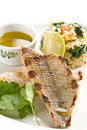Free Grilled Fish Royalty Free Stock Photography - 9531277