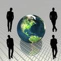 Free 3D Globe Royalty Free Stock Photo - 9538575