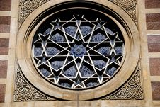 Free NYC: Central Synagogue Rose Window Stock Images - 9530134