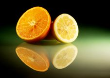 Free Still Life With Citruses Royalty Free Stock Photography - 9530297