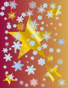 Free Snowflake Star Royalty Free Stock Photography - 9530327