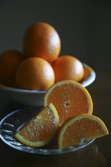 Free Oranges Royalty Free Stock Photography - 9530687