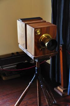 Free Antique Camera Royalty Free Stock Photography - 9530727
