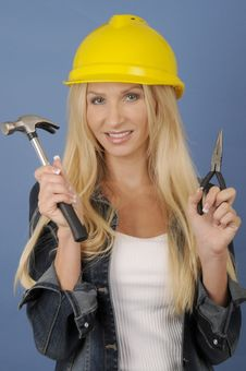 Free Construction Worker Royalty Free Stock Photos - 9530728