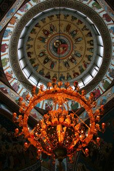 Free Inside An Orthodox Church Royalty Free Stock Photography - 9530757