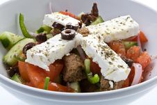 Free Greek Salad Royalty Free Stock Images - 9531089