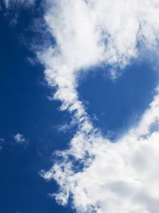 Free Cloud Heart Stock Photo - 9531490