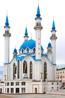 Free Kul Sharif Mosque Royalty Free Stock Image - 9531656