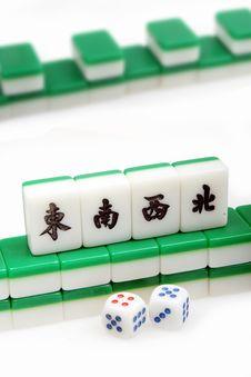 Chinese Mah-Jong Royalty Free Stock Image