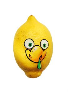 Free Sick Lemon Stock Photos - 9531723