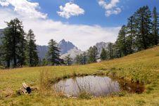 Free Jalovec Peak Royalty Free Stock Image - 9532586