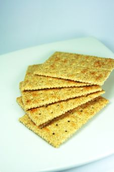 Free Bread Crisps Stock Images - 9532754