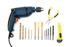 Free Tools Royalty Free Stock Photos - 9533408