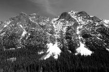 Free North Cascades Mountain Range Stock Image - 9535161