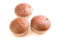 Free Chocolate Muffins Stock Photography - 9535912