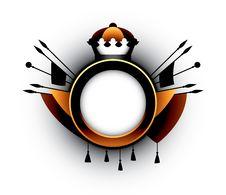Heraldic Simbol Royalty Free Stock Photo