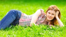 Free Beautiful Girl Outdoors Stock Image - 9536791