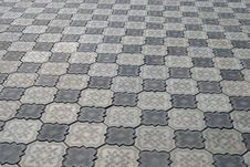 Free Grey Sidewalk Tile Stock Photo - 9536830