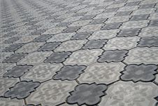 Free Grey Sidewalk Tile Stock Image - 9536841