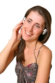 Free To Listen To Music Royalty Free Stock Photo - 9536935